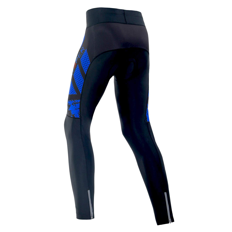 SKYSPER Pantalones Largos de Ciclismo para Hombre Pantalones de ...