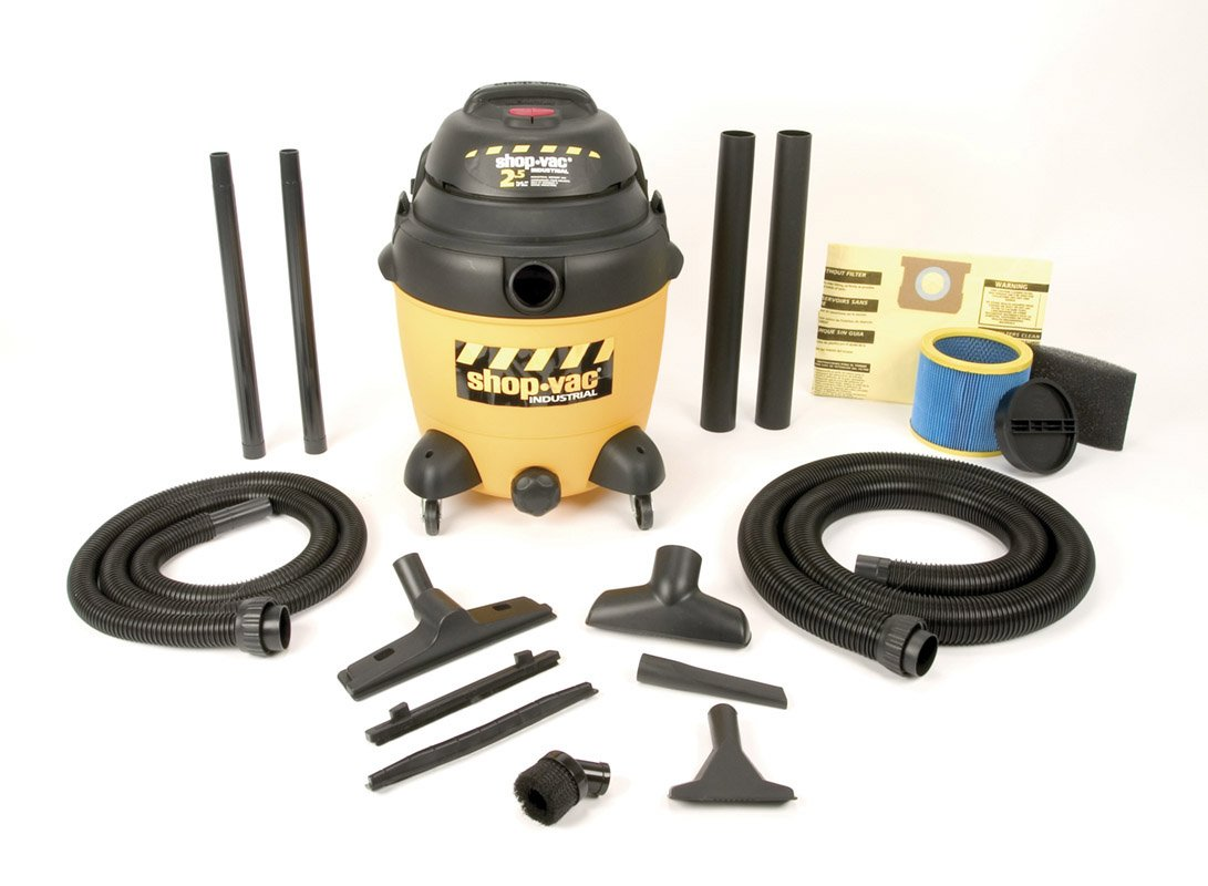 ShopVac 9623810 Industrial Multi Purpose Wet/Dry Vacuum Cleaner With Lock On Hose