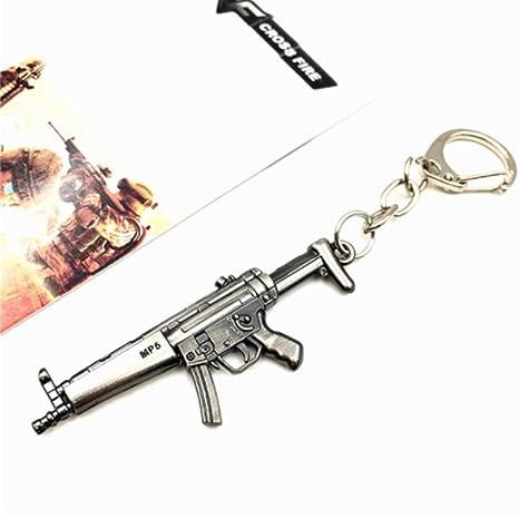 Amazon.com: 1 llavero con una pequeña pistola de bolsillo ...