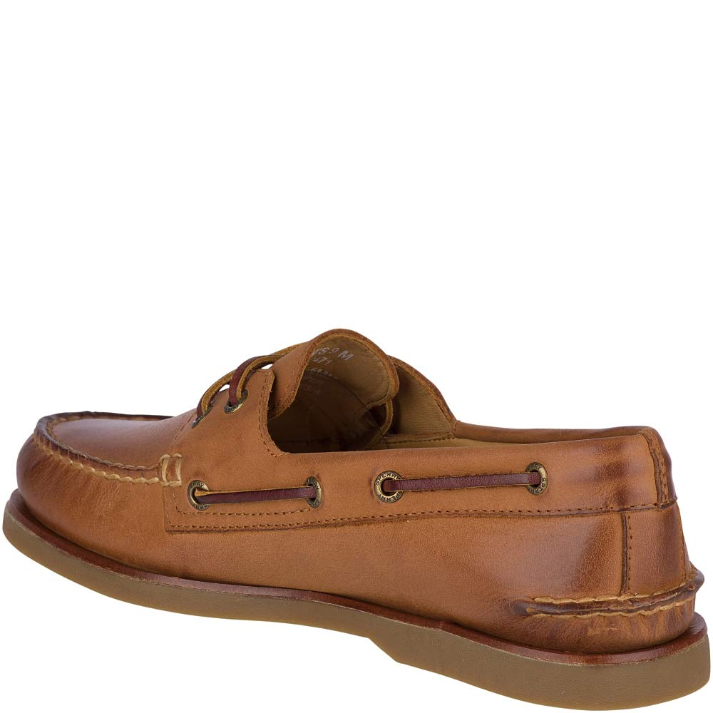 Sperry Men's Gold A/O 2-Eye Ginger 13 W US by Sperry (Image #4)