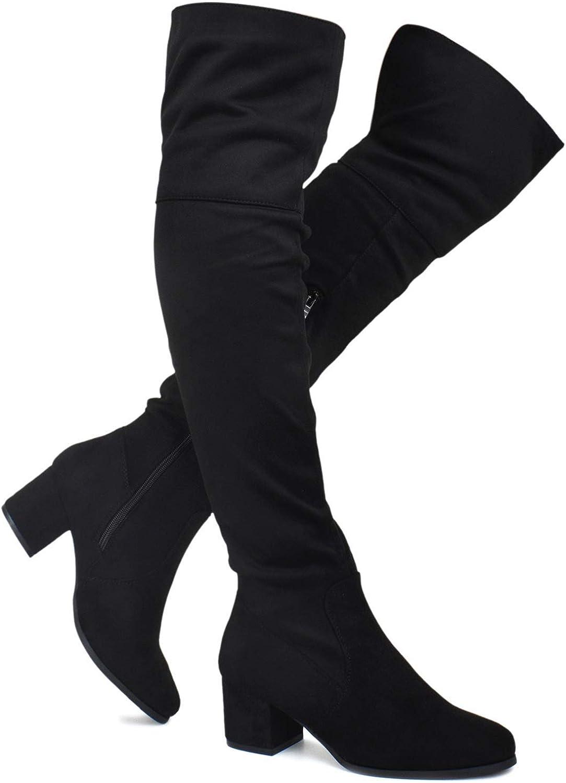 Trendy Low Block Heel Shoe