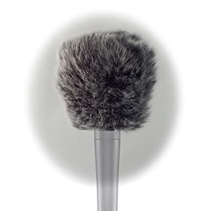 Furry Cover Windscreen Windshield Muff compatible for Shure Sm57 Microphone