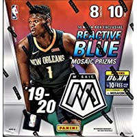 $227 » 2019-20 Panini MOSAIC Basketball Card Factory Sealed MEGA Box - Exclusive REACTIVE BLUE PRIZMs - 80 Cards per Box - Find Zion…