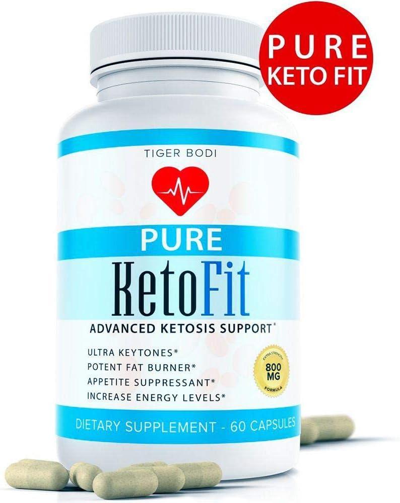 (Advanced Formula) Pure Keto Fit Pro Pills, Premium Keto Diet Pills Weight Loss Supplement for Energy, Focus - Exogenous Ketones for Rapid Ketosis - Ketogenic BHB for Men Women