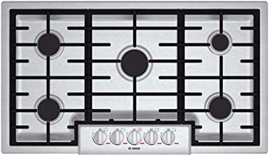 Bosch NGMP655UC 36 Gas Cooktop Benchmark Series – Stainless Steel