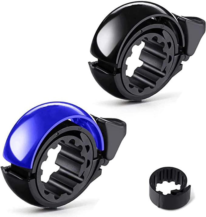 LIOOBO Aluminum Alloy Bicycle Bell Handlebar Ring Bell MTB Road Bike Mountain Bike Horn Bicycle Accessories Blue