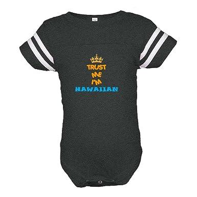 19973b51b9f5 Cute Rascals Trust Me I m Hawaiian Hawaii Combed Ring-Spun Cotton Tapped  Neck