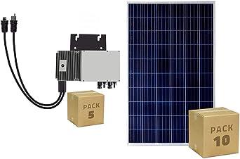 Pack 10 Panel Solar Fotovoltaico Policristalino 320 W Clase A + 5 ...
