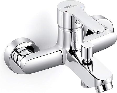 Amzdeal Grifo para baño y ducha Grifo de bañera con el Cuerpo de ...