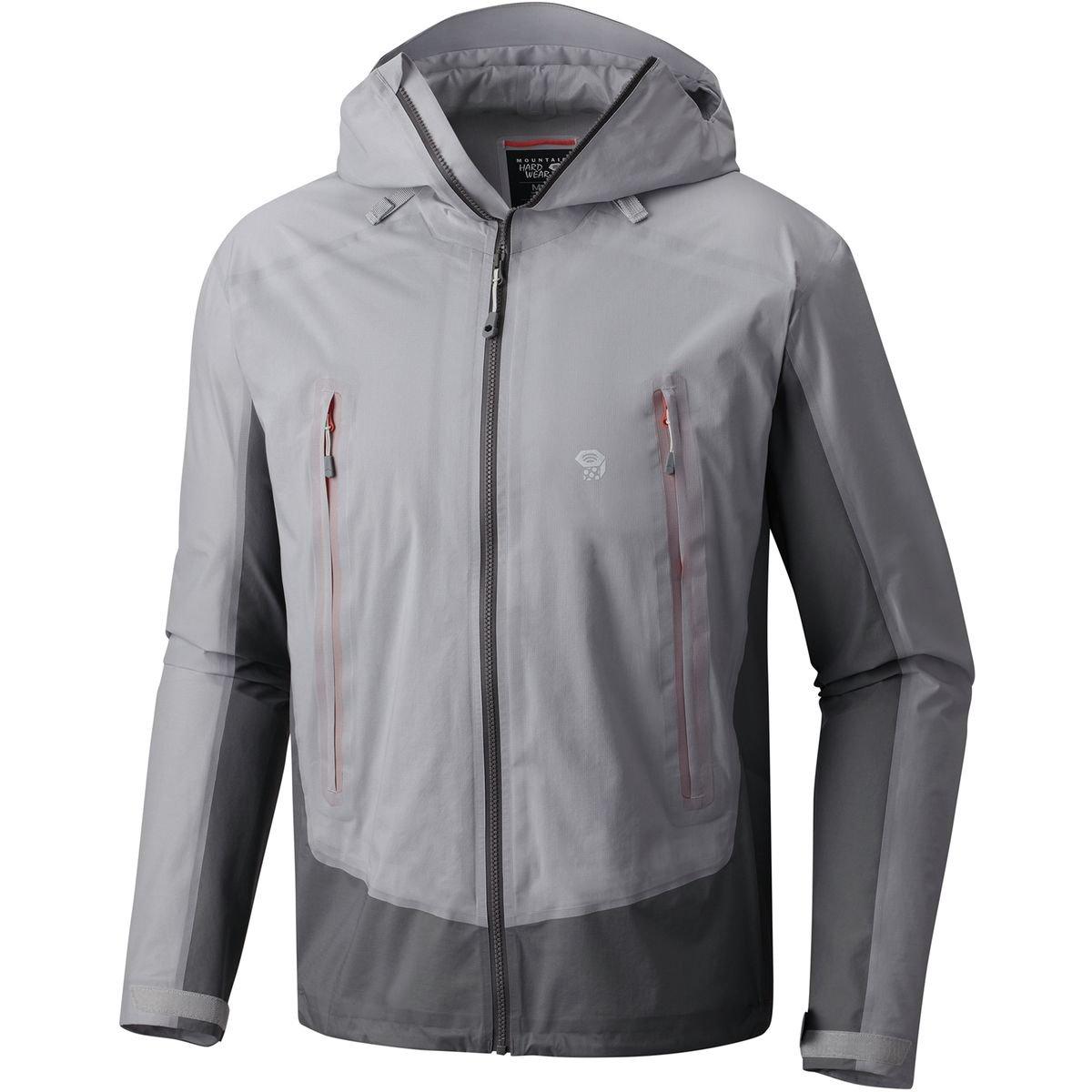 格安新品  Mountain Hardwear Quasar Lite Men II Mountain Grey Jacket – Men 's B079BLB2JS Small|Grey Ice/Manta Grey Grey Ice/Manta Grey Small, DEFF大きいサイズメンズ:8b0b52b5 --- arianechie.dominiotemporario.com