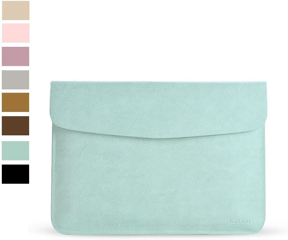 """KALIDI 12.9 inch Laptop Sleeve 12inches Laptop Case Bag for 13.3"""" MacBook Air 2017 2018 iPad Pro Air 12.9"""" for Surface Pro 4 Chromebook Tablet, Mint Green"""