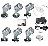 Xking 12V 1W LED Spotlight/Cabinet Light/Jewelry