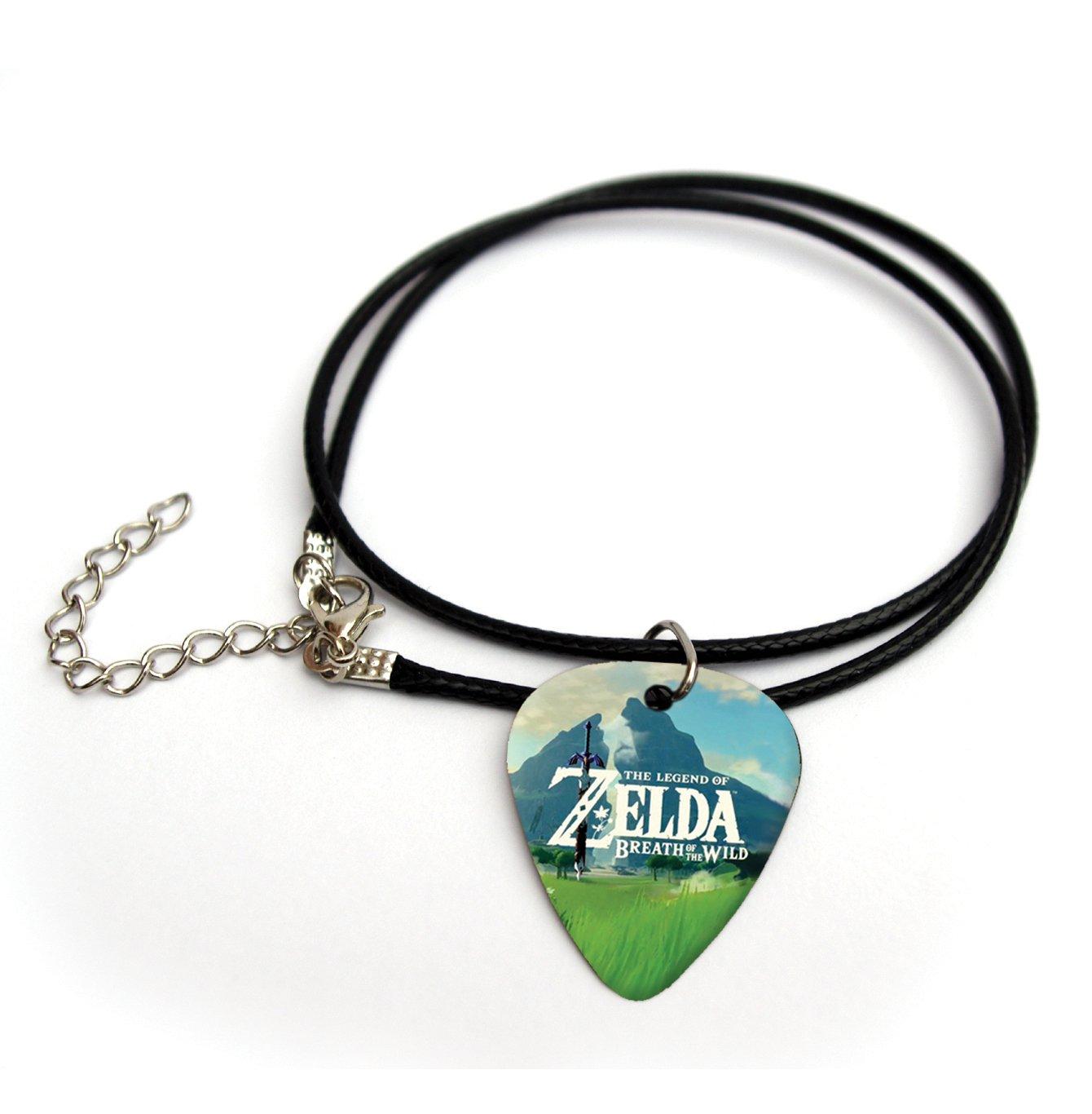 Zelda Imprim/é m/édiator de guitare Collier 45,7/cm