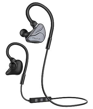 Honstek Auriculares inalámbricos Bluetooth 4.1, perfectos para hacer deporte, estéreo