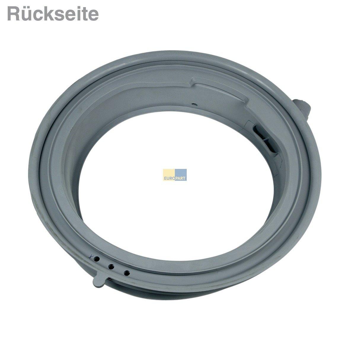 ersetzt 681210 T/ürdichtung T/ürmanschette Manschette passend f/ür Waschmaschine Bosch Siemens 00772655 772655