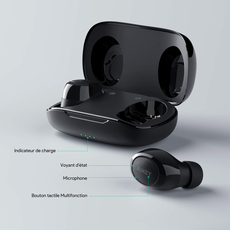 AUKEY Auricolari Wireless Portabile