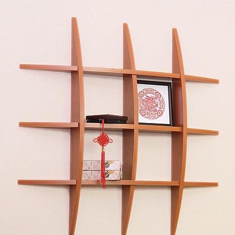 Montaggio Mensole A Muro.Qianda Mensole Da Muro Parete Libreria Scaffale Mensole Da Muro