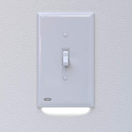4 Pack Snappower Switchlight Light Switch Cover Plate With Built