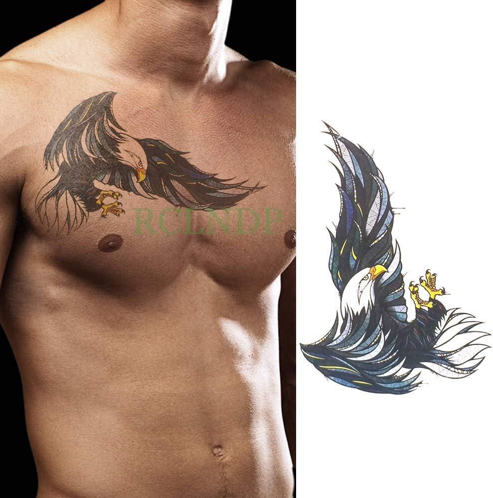 Yyoutop Impermeable Tatuaje Temporal Old School Tattoo Flash ...