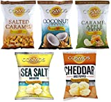cosmos salted corn - Premium Puffed Corn Sweet & Savory Variety Pack - Popcorn Without The Hulls - Gluten-Free Snack - 6-7 Ounces Each Bag - One of Each Flavor (Pack of 5)