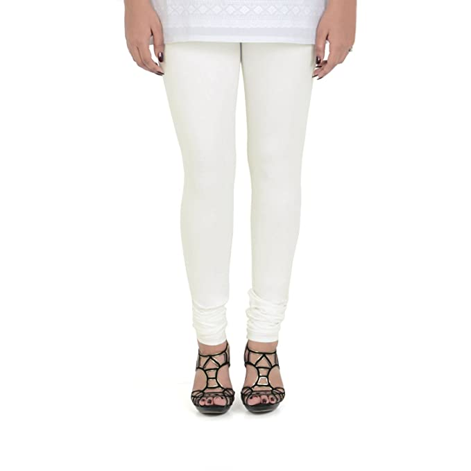 771d0134cec09 Vami Cotton Churidar Leggings in Off White Color _VM1001(02): Amazon.in:  Clothing & Accessories