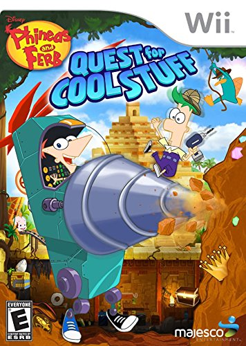 Phineas and Ferb: Quest for Cool Stuff – Nintendo Wii