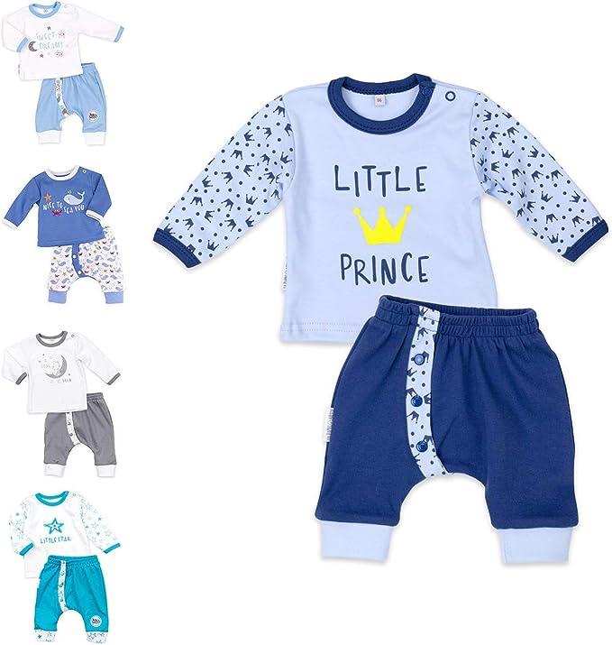 Shirt /& M/ütze als Baby-Erstausstattung f/ür M/ädchen und Jungen//Bio-Baumwolle Baby-Kleidung Strampler Set f/ür Neugeborene /& Kleinkinder in verschiedenen Gr/ö/ßen Baby Sweets 3er Baby-Set mit Strampler