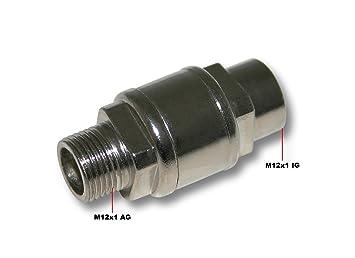 Válvula de retención del compresor de aerógrafo AS189/AS196/AS196A: Amazon.es: Jardín