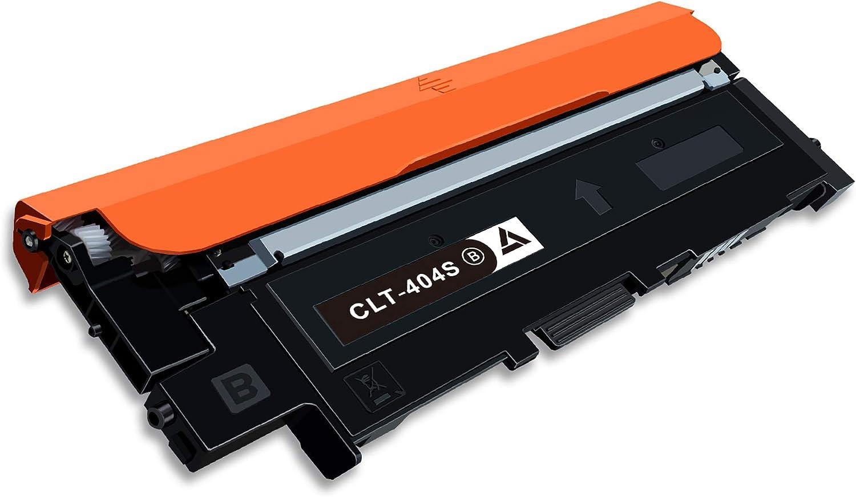 7magic Clt 404 Compatible With Samsung Clt 404 1 Black Bürobedarf Schreibwaren