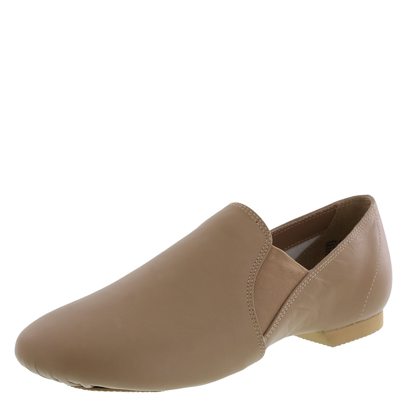 American Ballet Theatre for Spotlights Girls' Tan Girls' Twin Gore Jazz Shoe 3.5 Regular