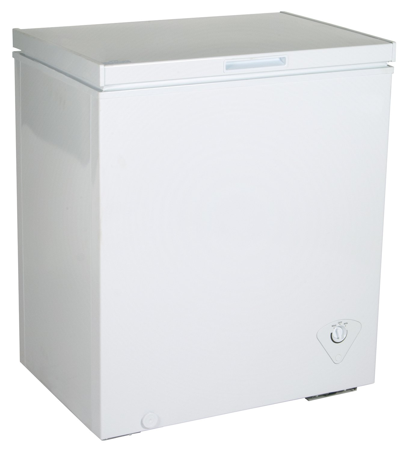 Koolatron KTCF155 5 Cubic Foot (142 Liters) Chest Freezer with Adjustable Thermostat, White