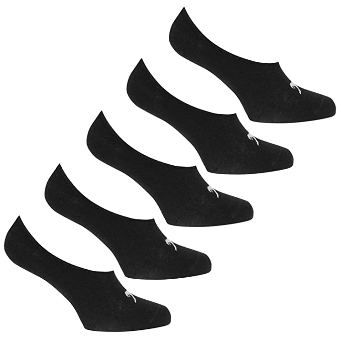 davvero economico prezzi di sdoganamento nuovo arrivo Slazenger Uomo Calze Invisibili Fantasmini Calzini 5 Pezzi: Amazon ...