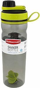 Rubbermaid 1950614 Shaker Bottle, 20 oz, Green Crab King