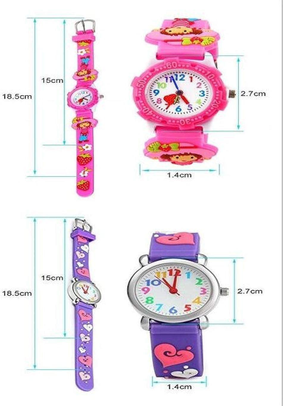 Armbanduhren Cartoon 3D Kleine Schildkröte Erdbeeruhr Junge Mädchen Uhr wasserdichte Quarzuhr Weiß