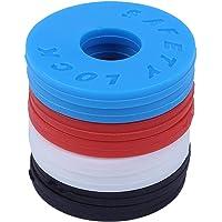 Moligh doll Strap Locks (4 Pair) - 2 Red, 2 Blue, 2 Black, 2 White