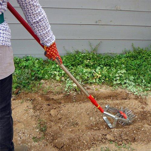 [WOLF Garten] ウルフガルテン:マルチスター:耕運機除草ヘッドとハンドルのセット ノーブランド品 B075X1N3TJ