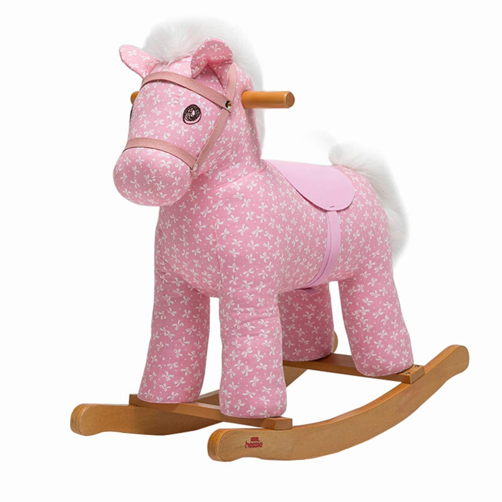 Rocking Horse,Baby Trojan Rocking Chair 1-3 Year,Rocking Horse Early Learning Plush Children's Toy