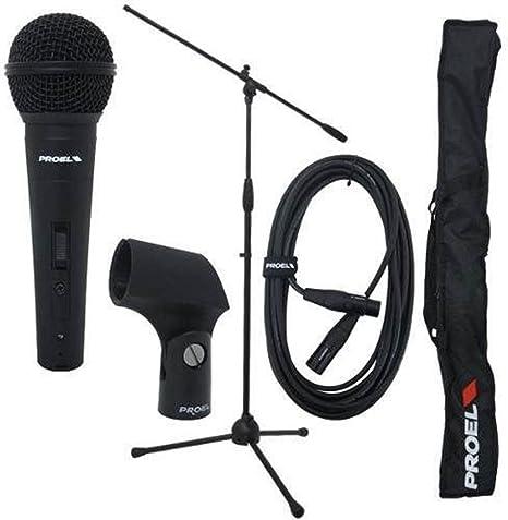 Proel Pse3 - Pack micrófono: Amazon.es: Instrumentos musicales