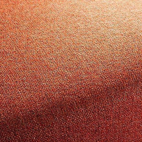 Chivasso Tela de tapicería Bonsai Uni Color Naranja como ...