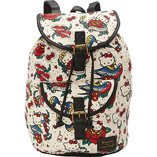 loungefly-hello-kitty-tattoo-canvas-backpack-tan-multi