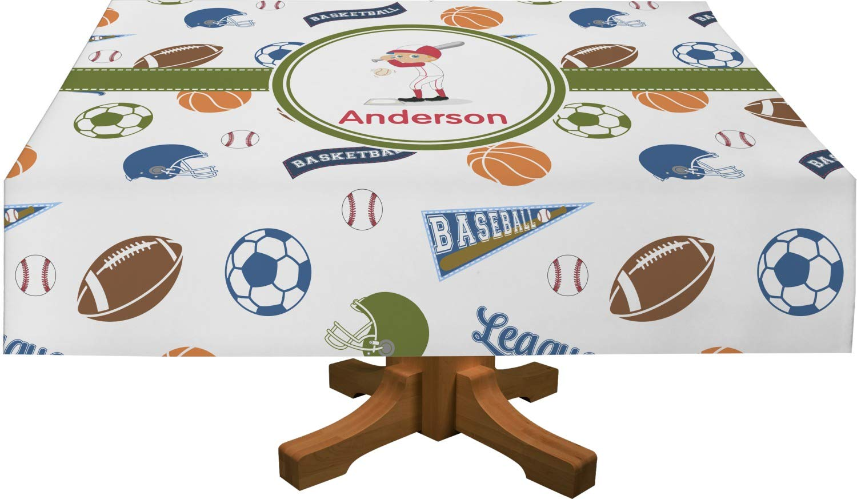 Deportes rectangular mantel (personalizado): Amazon.es: Hogar