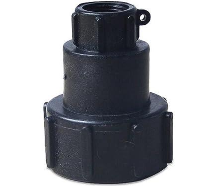 1000L IBC water tank Nozzle Tap Cap Valve fitting adaptor Drain spout Hose 2/'/'