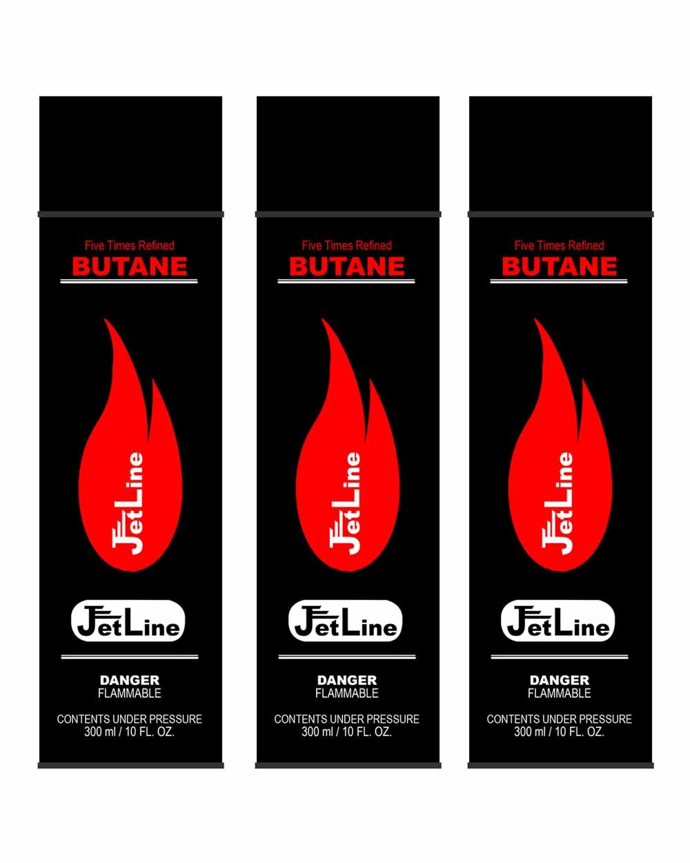 Amazon jetline premium butane 5 times refined 5x filtered amazon jetline premium butane 5 times refined 5x filtered refill 300ml 10oz 3 cans sports outdoors reheart Image collections