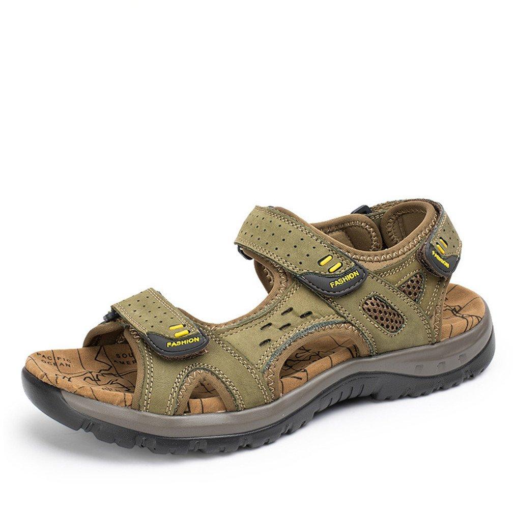 Neue Mode Sommer Freizeit Strand M?nner Schuhe LedersandalenSommer Freizeit Strand Schuhe Ledersandalen