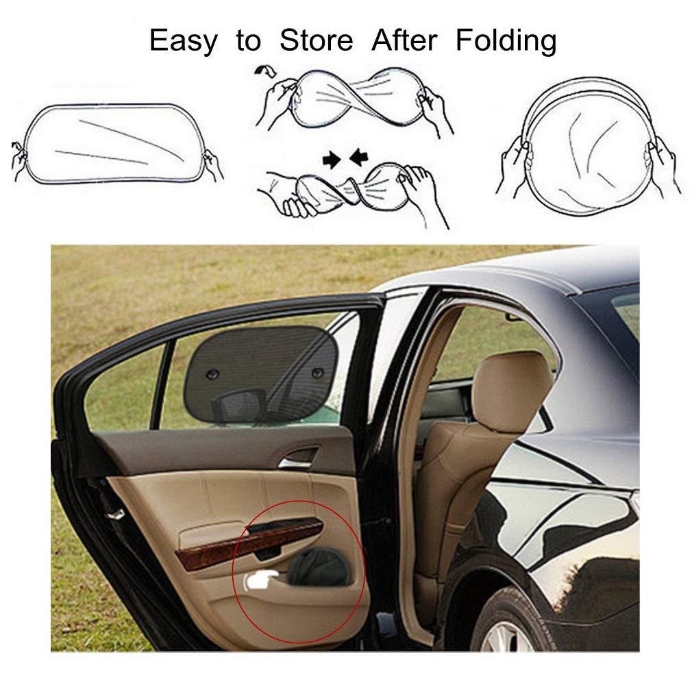 3 Pack Suction Cup Stick Universal Car/Visor Side/Window/Sun/Shade Cover Blocking Harmful UV Rays Sun Glare Heat for Kids Girls Pets Mnioky Car/Window Sun/Shade for/Baby Women