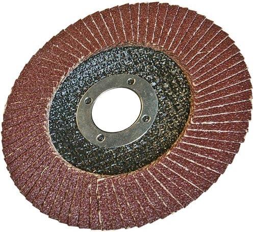 Disque à lamelles corindon 115 mm Grain 80