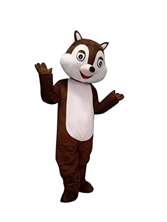 happy shop eu chip and dale chipmunk squirrel halloween adult mascot costume fancy dress outfit