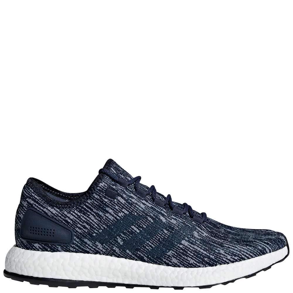453bf9569 Galleon - Adidas Men s Pureboost Running Shoes Core Blue Linen Night Navy 9  D(M) US