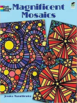 magnificent mosaics coloring book dover design coloring books - Mosaic Coloring Book