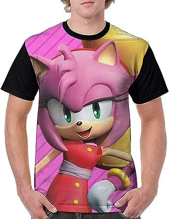 Sonic Boom-Amy Rose Camisa clásica de Manga Corta de ...